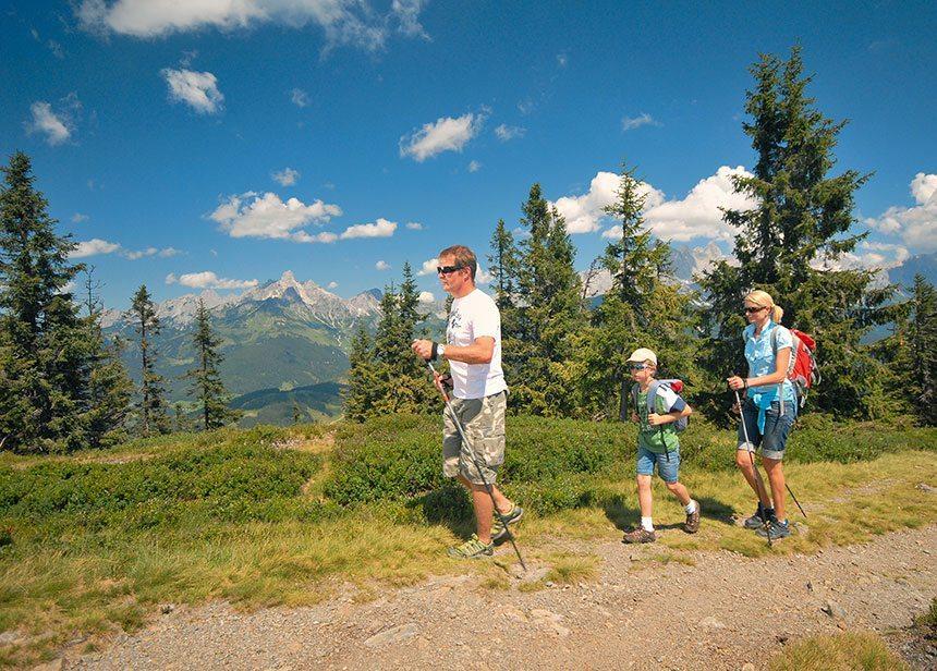 Wanderurlaub, Sommerurlaub in Radstadt, Salzburger Land