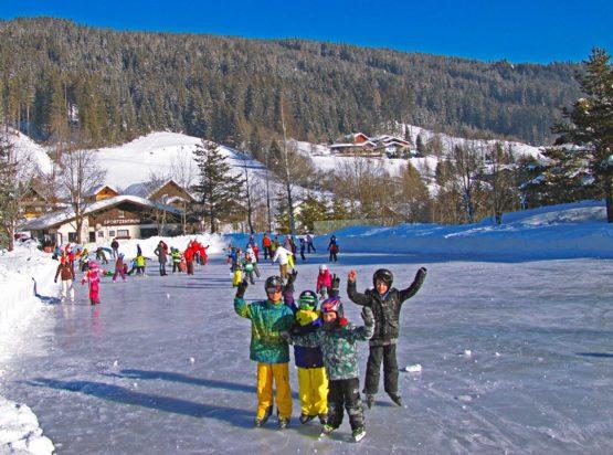 Eislaufen - Winterurlaub - Radstadt