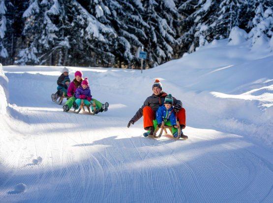 Rodeln - Winterurlaub - Radstadt - Ski Amadé