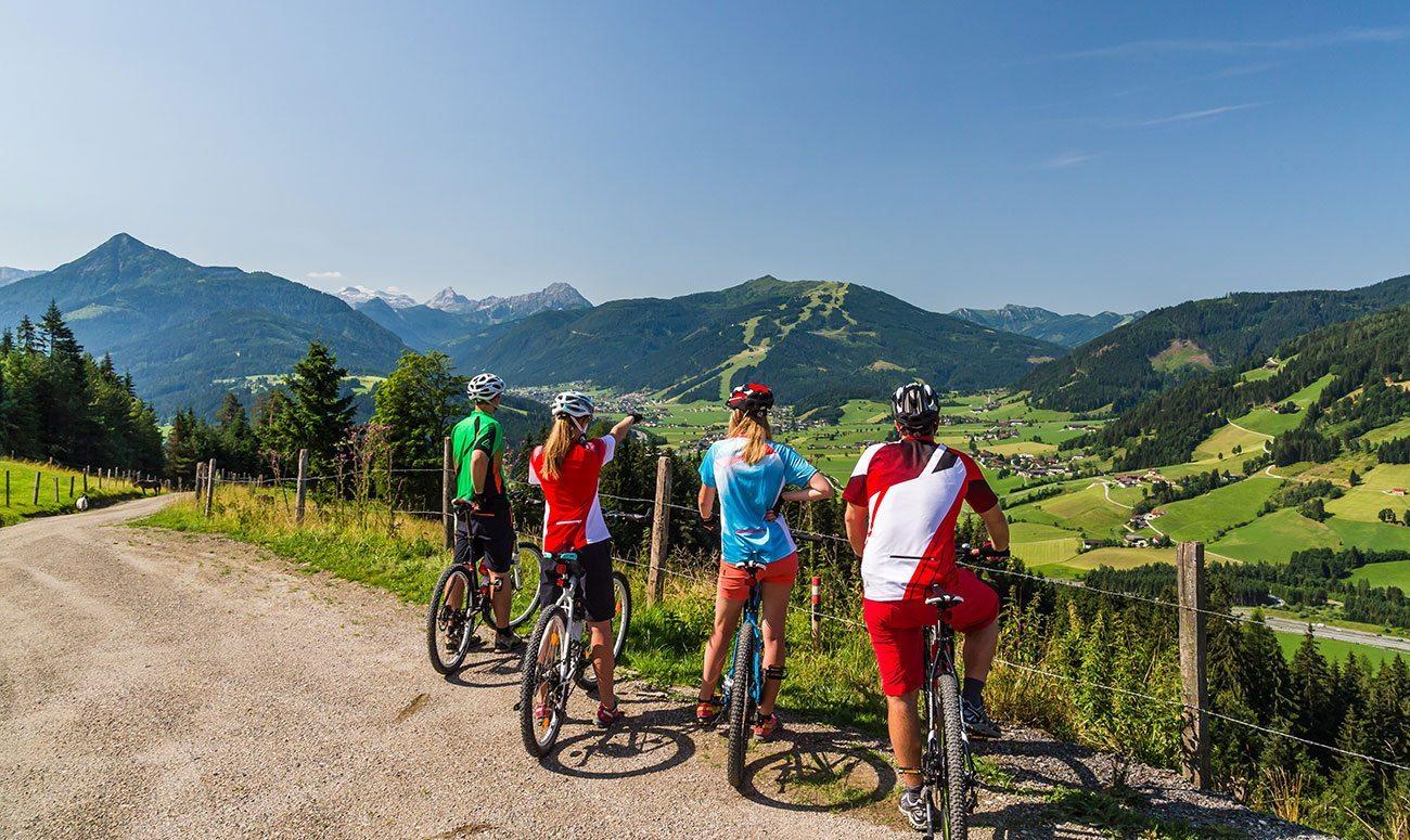 Sommerurlaub in der Salzburger Sportwelt, Österreich