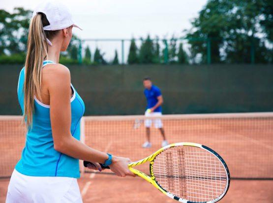 Tennis im Sommerurlaub in Radstadt, Salzburger Land